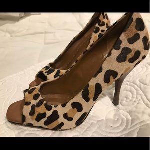 BCBG Animal print heels
